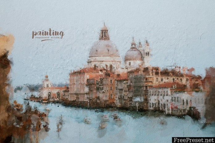 Painting Photoshop Action 23750254
