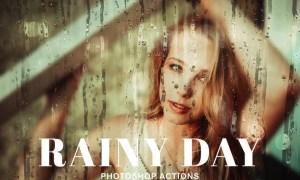 Rainy Day Photoshop Actions DK3J6X