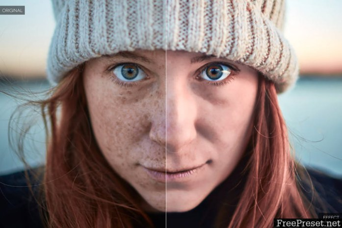 Skin Retouch Photoshop Actions Kit YXYLNJ