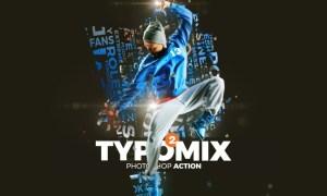 TypoMix 2 Photoshop Action G4FYSG