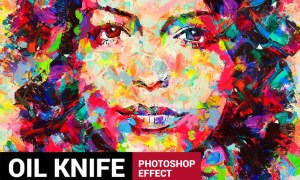 Ultimatum 2 - Oil Knife Painting Photoshop Action Y8Y6E3