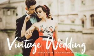 Vintage Wedding Mobile & Desktop Lightroom Presets ZSFXKC