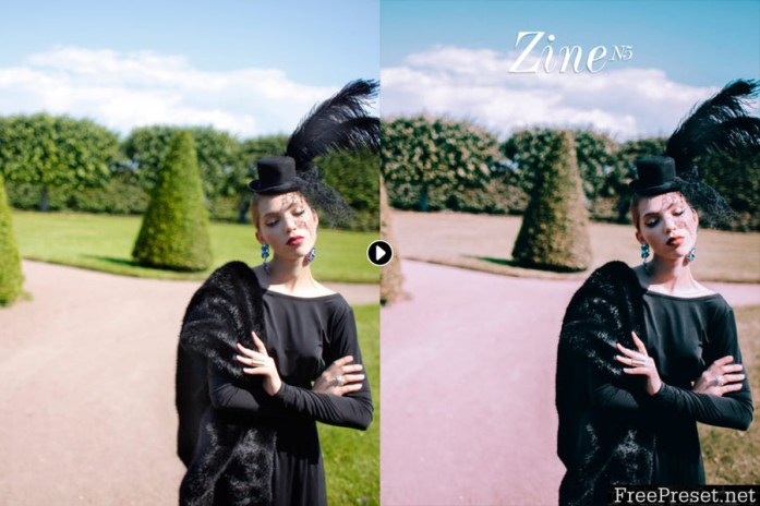 Zine Fashion Lightroom Presets - Volume II 9XQAJH