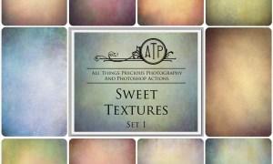 10 Digital SWEET TEXTURES Overlays Set 1