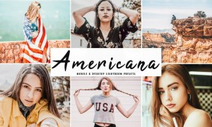 Americana Mobile & Desktop Lightroom Presets