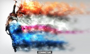 Commetum - Cosmic Tail Photoshop Action 4C6B5L