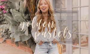 Golden Pastels Blogger Preset 2316880