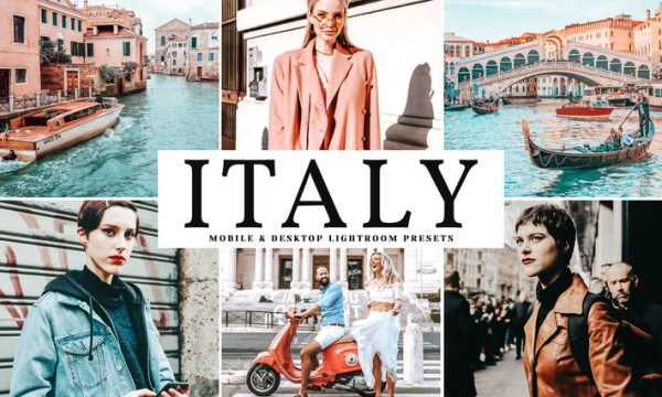 Italy Mobile & Desktop Lightroom Presets