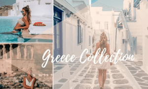 Lisa Homsy Greece Collection Lightroom Presets