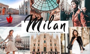 Milan Mobile & Desktop Lightroom Presets