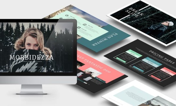 Morbidezza : Winter Powerpoint Template - SFKL6K -  PPTX