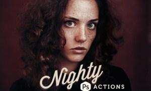 Nighty Photoshop Actions FEWUKT