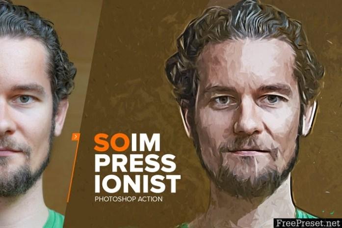 SoImpressionist Photoshop Action N8EFYA