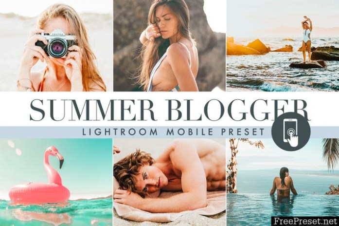 Summer Lightroom Mobile Presets
