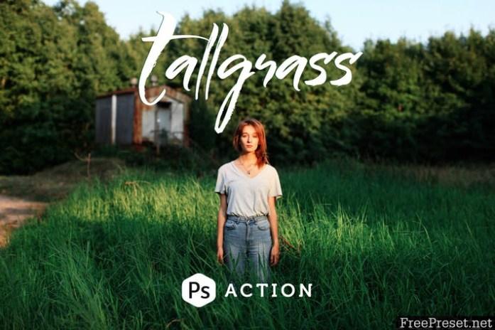 Tallgrass Photoshop Action J4VH3K