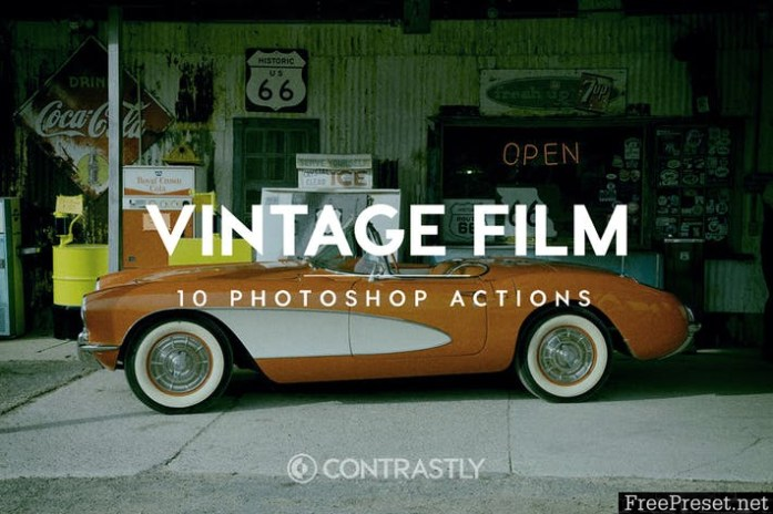 Vintage Film Photoshop Actions 837TWE