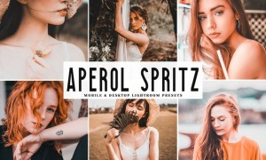 Aperol Spritz Mobile & Desktop Lightroom Presets