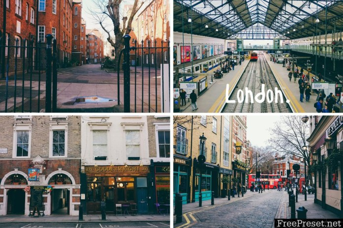 Claire Alice Young Lightroom - London Presets