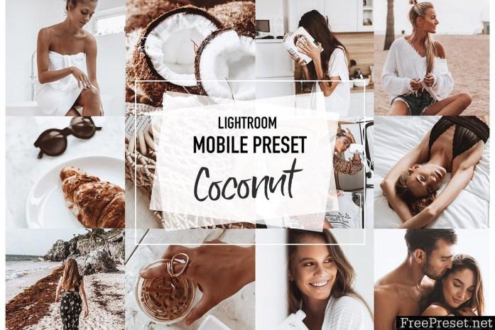 COCONUT 4 Lightroom mobile Presets 3956942