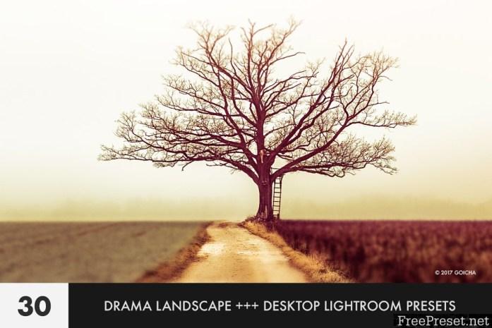 Drama Landscape Lightroom Presets 1845599