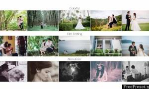 Kamin Wedding Collection Lightroom Presets Set 1