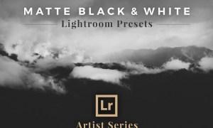 Matte Black & White Lightroom Presets 1851194