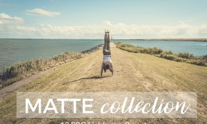 "Matte Lightroom Presets 1807072Matte Collection is a professionally designed pack of 12 Lightroom Presets for giving your photos a beautiful, vintage, faded and film look.  Matte Collection is a must have for photographers, bloggers and instagramers: travel, landscape, wedding or portraits photos.  This pack contains a total of 12 Lightroom Presets.  BUY THEM AND START ENHANCING YOUR PHOTOS NOW  Works with:  RAW, DNG, JPG, TIFF and PSD files. Best results with RAW/DNG.  Compatible with:  Adobe Lightroom 4, 5, 6 and CC. Windows PC and Mac  They don´t work with Adobe Photoshop  Installation:  Download the presets and unzip them.  Open the Presets Folder in Lightroom o PC: Edit Preferences o MAC: Lightroom Preferences  Go to ""Presets"" tab and click on ""Show Lightroom Presets Folder""  Go to ""Lightroom"" folder and then to ""Develop Presets"" folder  Paste the presets into the ""Develop Presets"" folder.  Maybe you want to create a subfolder.  Close and Open Lightroom again  Start using them"