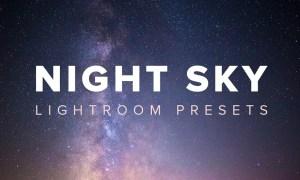 Night Sky Lightroom Presets 1196311