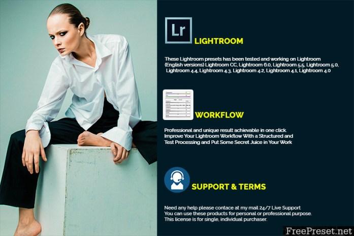 Premium Fashion Model Lightroom Presets