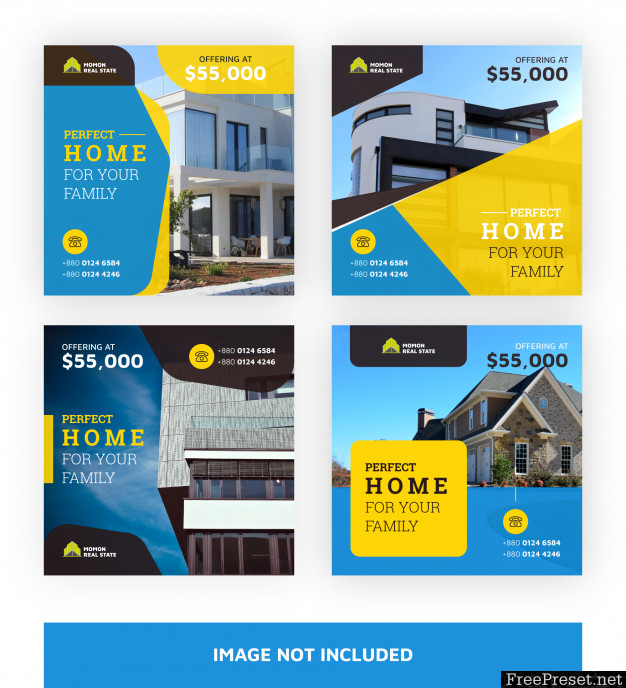 Real Estate Banners Template 3868724