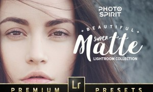Super Matte Lightroom Collection 1483118