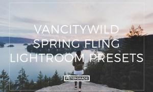VancityWild Spring Fling Lightroom Presets