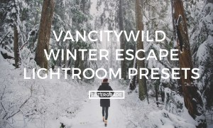 VancityWild Winter Escape Lightroom Presets