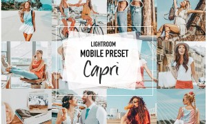 CAPRI 4 Lightroom Mobile presets 3957013
