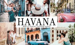 Havana Lightroom Presets Pack 3998342