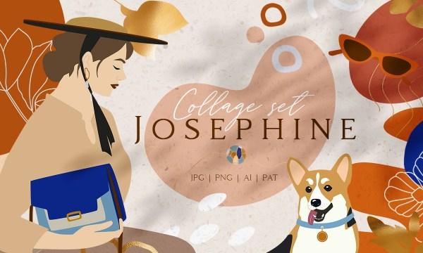 Josephine Collage Set 3979527