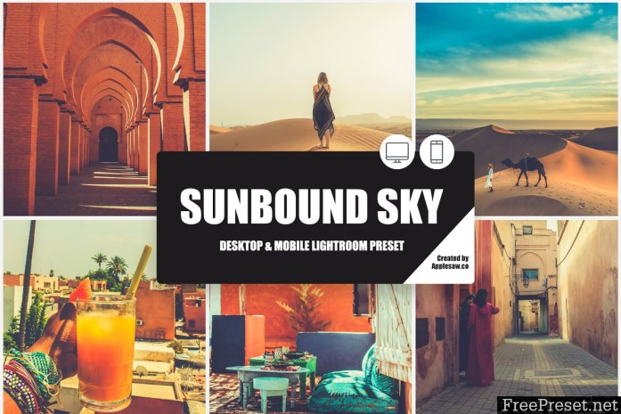 Sunbound Sky Lightroom Preset 3874202