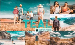 Teal Photoshop & Lightroom Presets 4068144
