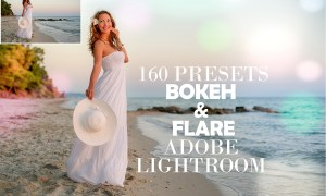 160 Bokeh & Flare Lightroom Presets 4348405