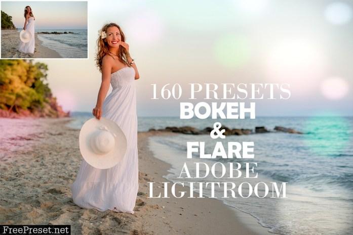 160 Bokeh & Flare Lightroom Presets 4348405