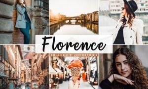 Florence Mobile & Desktop Lightroom Presets