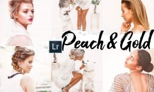 09 Peach & Gold Desktop Lightroom Preset 2536515