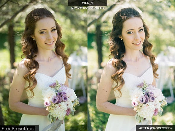 12 Real Wedding Lightroom Presets