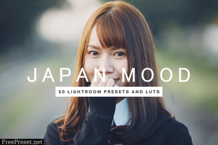 50 Japan Mood Lightroom Presets LUTs
