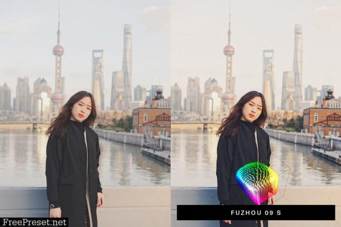 50 Shanghai Lightroom Presets and LUTs