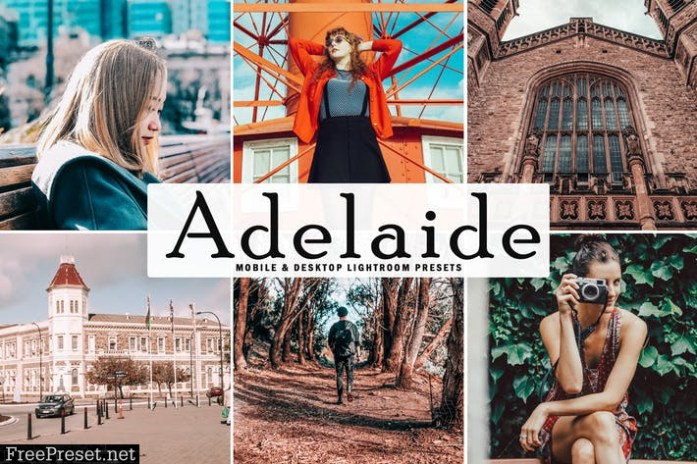 Adelaide Mobile & Desktop Lightroom Presets
