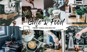 CAFE & FOOD FILM LIGHTROOM PRESETS 4433385
