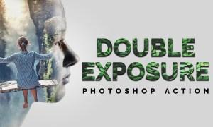 Double Exposure Photoshop Action 4416810