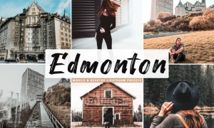 Edmonton Mobile & Desktop Lightroom Presets