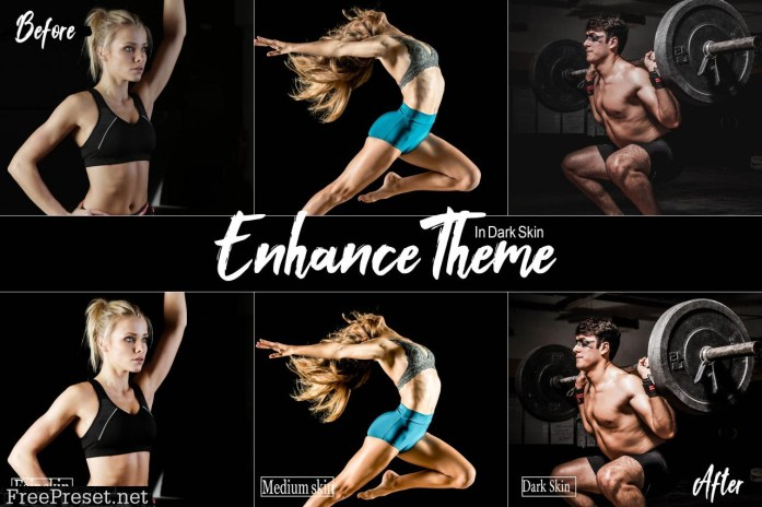 Fitness Studio Mobile Lightroom Presets 2449413